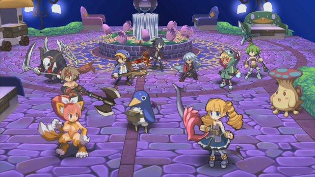 Erstmals bietet Disgaea hochauflösende Figuren.