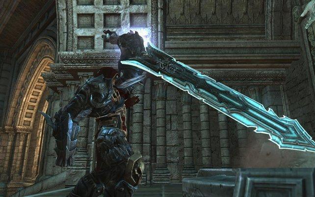 Mit dem Schwert bekommt ihr sie alle!