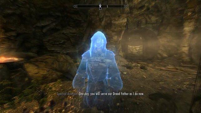 Lucien Lachance - bekannt aus Oblivion - nun als Geister-Assassine in Skyrim.