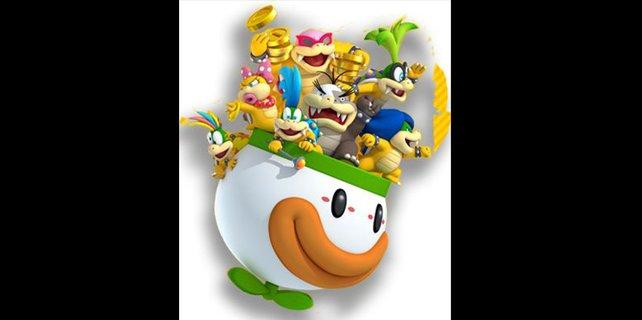 Mario nimmt es mit einer Vielzahl an Gegnern auf.