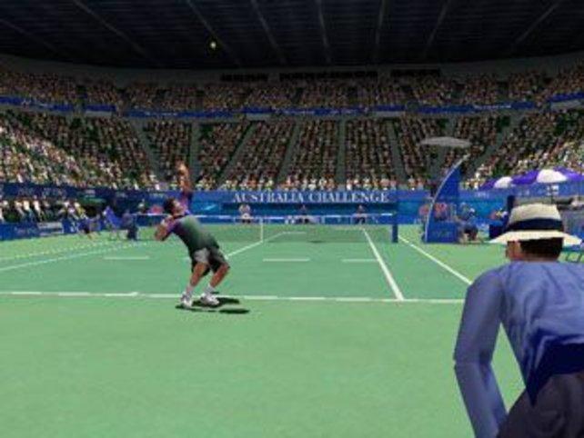 Auch in Sydney wird Tennis gespielt