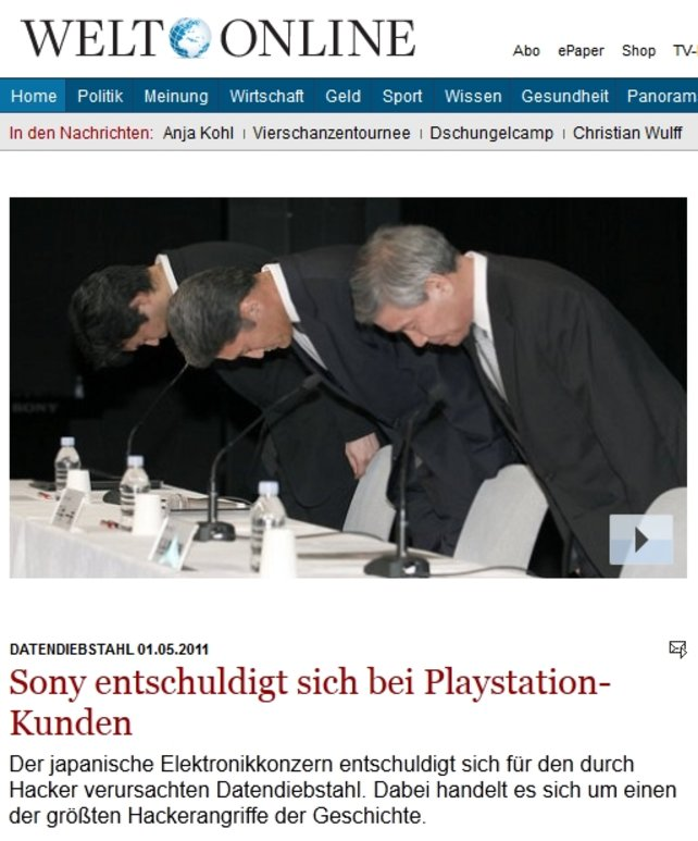 Sämtliche Medien berichten über Sony. Und dann noch diese schlimmen Erpresser-Videos bei spieletipps ...