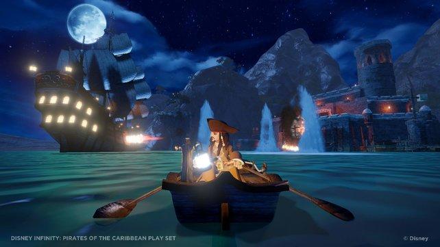 Die Welt von Jack Sparrow ist dieselbe wie in den Kinofilmen.