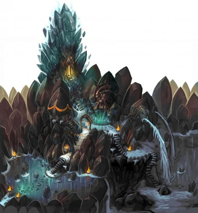 Erste Konzeptzeichnungen von Torchlight 2 zeigen die comicartige Optik des Spiels.