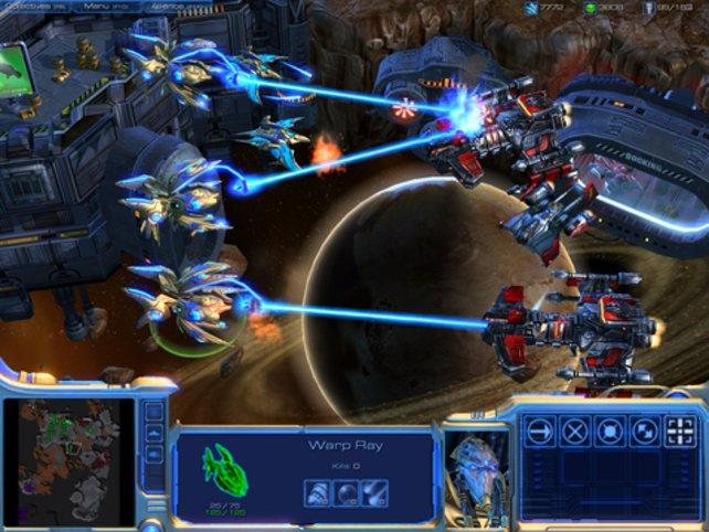 Die epischen Schlachten um Planeten setzen sich im Weltall fort.