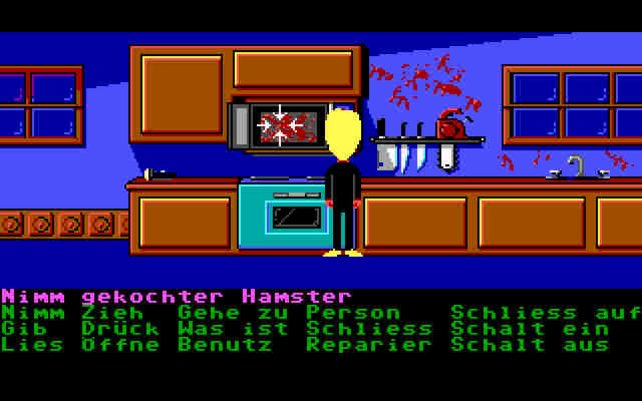 Mikrowelle zu, Hamster tot.