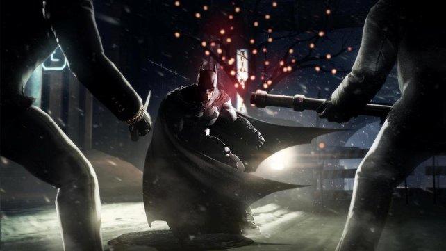 In Batman - Arkham Origins mag der dunkle Ritter noch unerfahren sein, doch wer sich mit ihm anlegt, bereut das in der Regel.