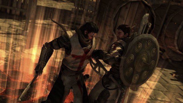 Denz und Esteban - zusammen klettern, kurbeln und kämpfen sie sich durch das Spiel.