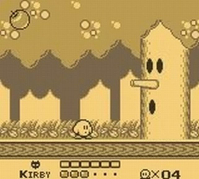 Kirby-Kenner haben schon oft gegen den Baum-Boss gekämpft.