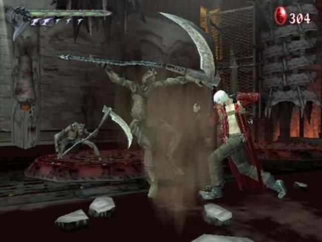 Überraschend auftauchende Feinde sind für Dante nichts besonderes.