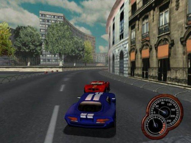 Ein Rennen in der Stadt