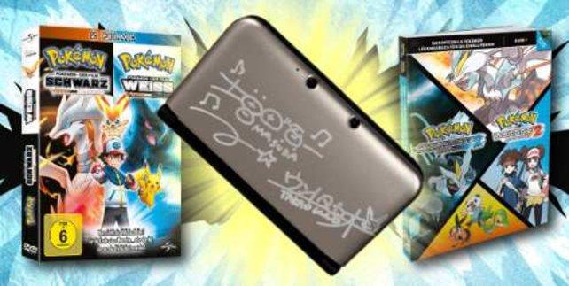 Gewinnt einen signierten 3DS XL mit Lösungsbuch und DVD.