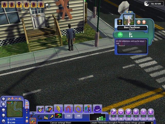 Bürger geben auskunft über  den Zustand der Stadt
