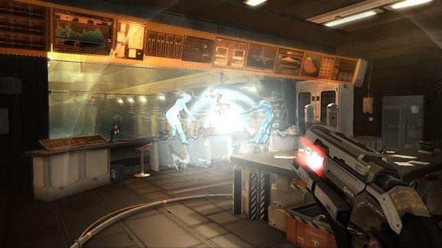 Im neuen Deus Ex-Teil wird auch geballert.