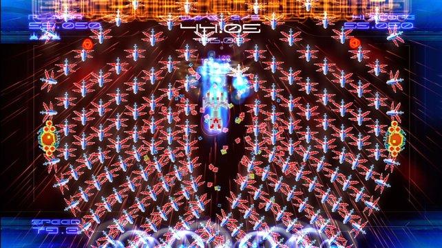Was für ein Laser-Inferno - Galaga ist ein Sturmangriff auf eure Sinne.