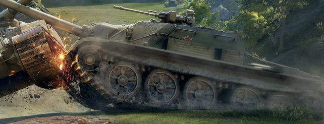 World of Tanks als altes Konsolenspiel
