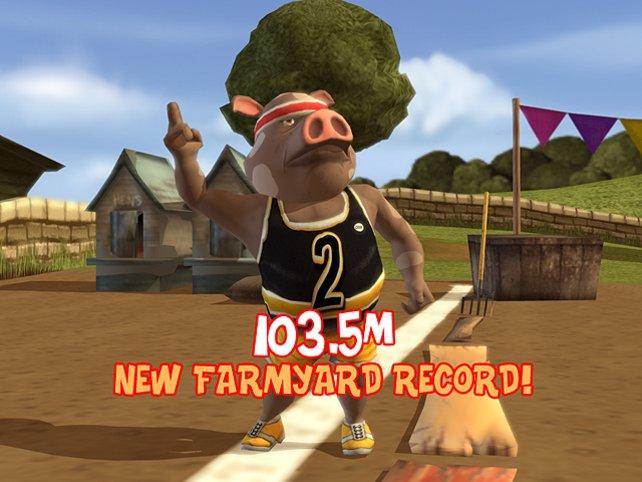 Schweinchen Dick hat den Bauernhofrekord gebrochen!!!!