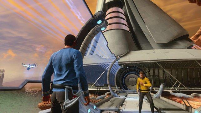 Spock und James Kirk erleben ein neues Abenteuer zwischen den Kinofilmen.