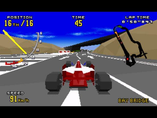 3D-Vorreiter von Sega: Virtua Racing.