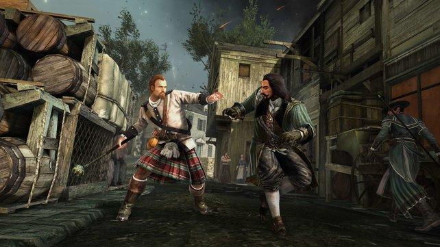 Der kräftig zuschlagende Schotte ist eine der drei neuen Figuren.