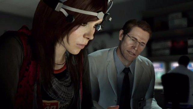 Gemeinsam versuchen Nathan und Jodie zu erforschen, warum Aiden sie begleitet.