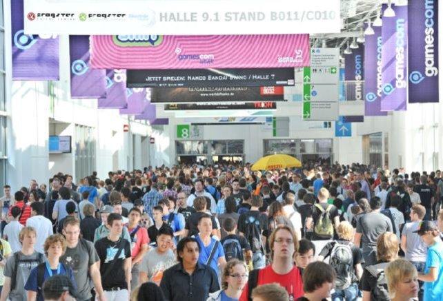 Nur ein kleiner Ausblick auf die Besuchermassen der Gamescom 2012.