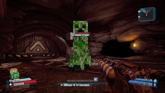 Creeper in Borderlands 2? Ja, die gibt es wirklich!