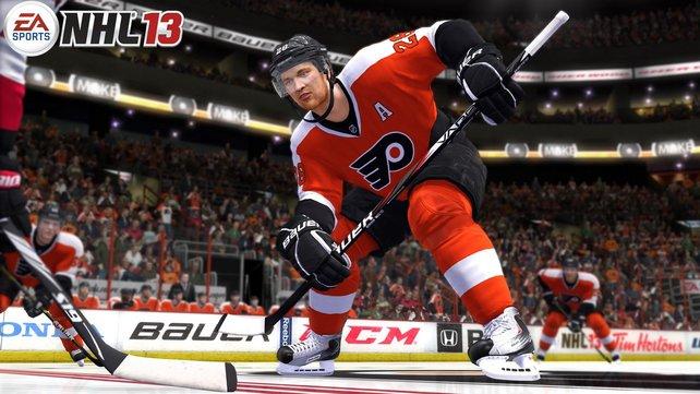 In NHL 13 sehen die Spieler ihren Vorbildern ähnlich.