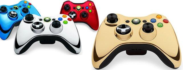 Luxus oder Kitsch? Goldenes Gamepad für die Xbox 360