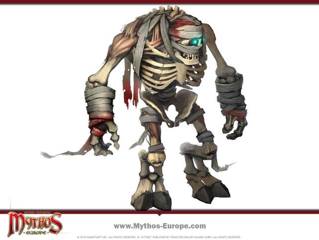 Eines von vielen Monstern in Mythos.