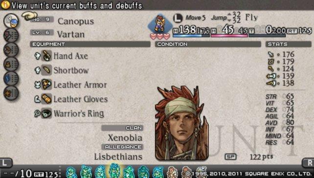 Dieser Charakter fliegt sogar über Abgründe.