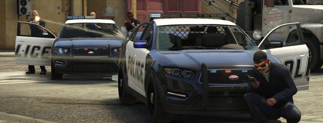 GTA 5: Spieler geben sich als Polizei aus, um die Warteschlangen zu umgehen