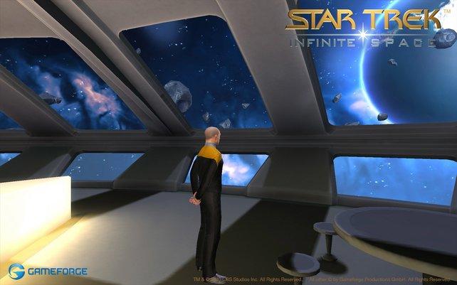 Bald dürft ihr als Raumschiff-Kapitän eine Star-Trek-Karriere starten.