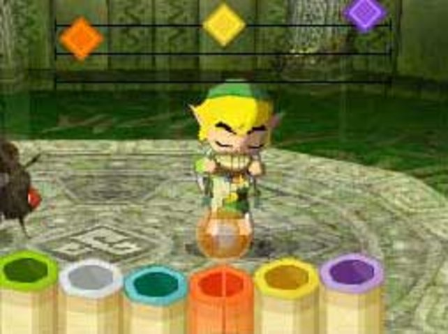 Link bringt euch die Flötentöne mit Stylus und pusten bei.