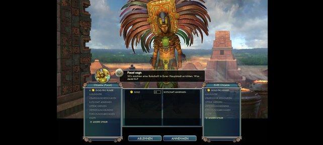 Diplomatie gehört zum Tagesgeschäft von Civilization 5.