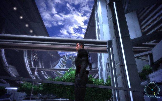 Die Citadel ist eine imposante Raumstation