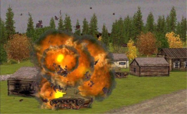 Die Explosionen können sich sehen lassen