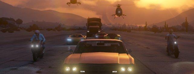 GTA Online: Keine verschwindenden Autos mehr, Patch 1.04 veröffentlicht