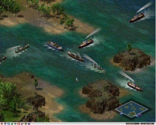 Eine gut funktionierende Schiffsroute