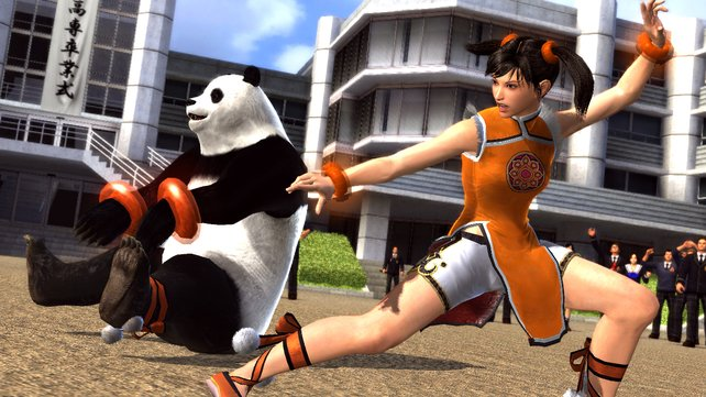 Kung-Fu-Kraft und Panda-Power vereint!