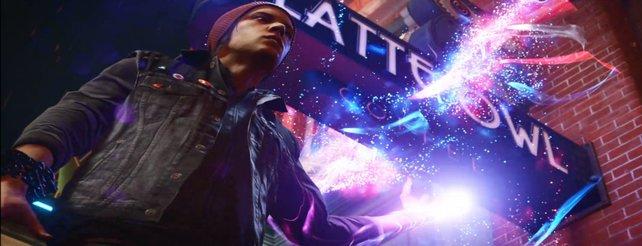Infamous - Second Son: Neon-Kraft und Erscheinungsdatum im neuen Video