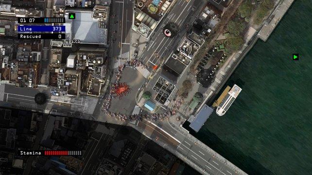 Die Monster wirken ein wenig deplatziert in den detaillierten Städteansichten.