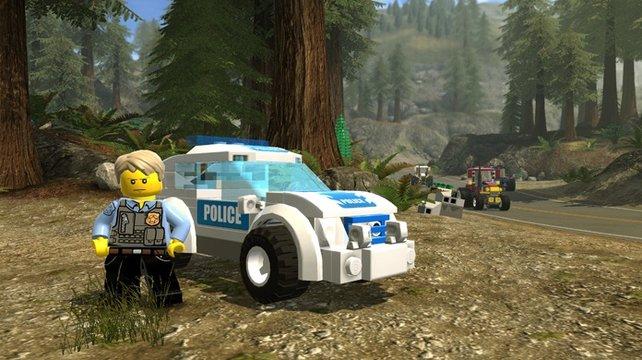 Als Elite-Polizist seid ihr befugt, euch Streifenwagen liefern zu lassen.