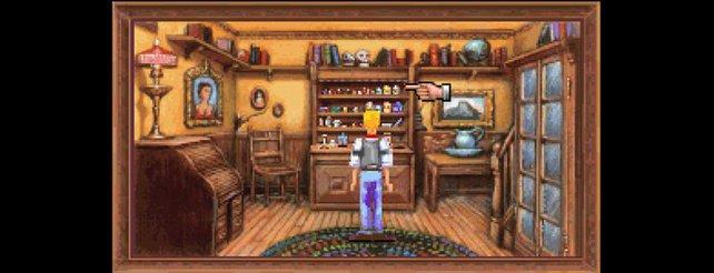 Protagonist Freddy ist nicht der typische Revolverheld (Freddy Pharkas).