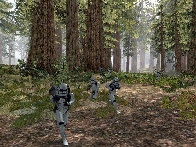 Battlefront sorgt für spaßige Mehrspielerschlachten auf bekannten Planeten.