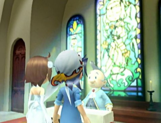 Eine virtuelle Hochzeit.