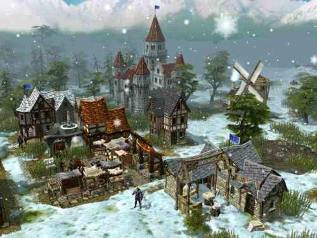 ...und Winter in der selben Stadt