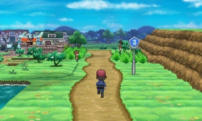 Neue Perspektive, neue Umgebung: Das Land Kalos ist wie die Pokémon stimmig in 3D umgesetzt.