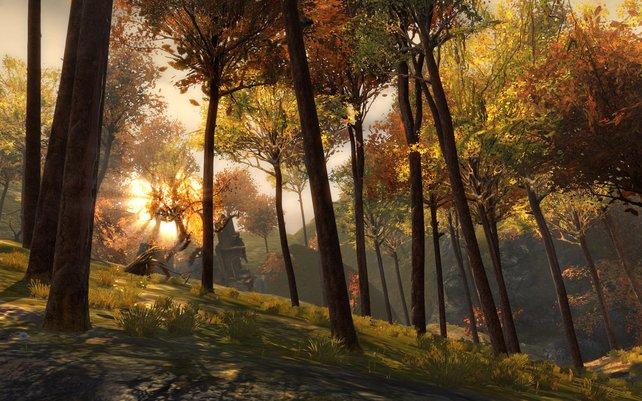 Postkartenmotive gibt es auch in Online-Spielen.