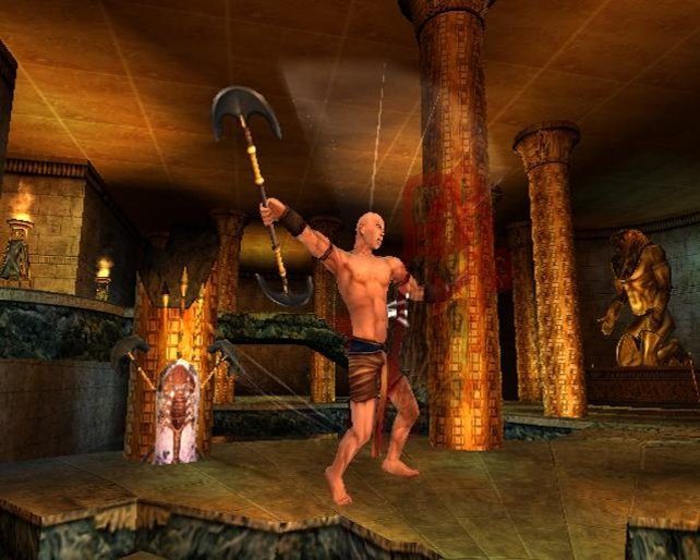 Imhotep in voller Größe